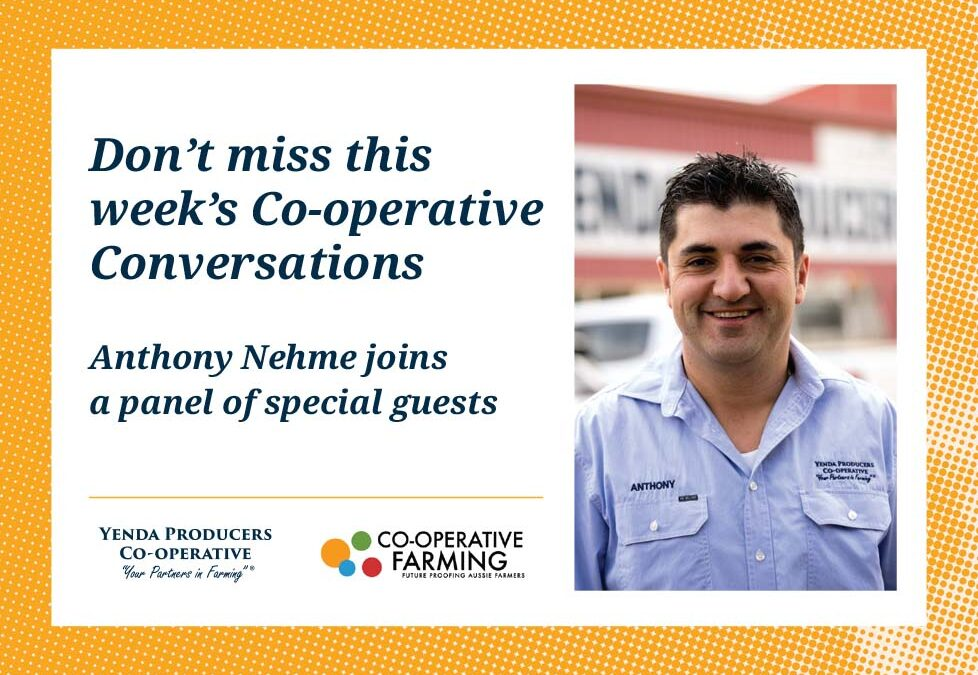Anthony Nehme joins Co-operative conversations for a round table discussion